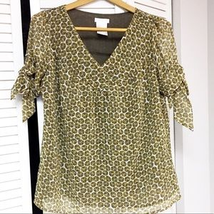 Worthington career blouse